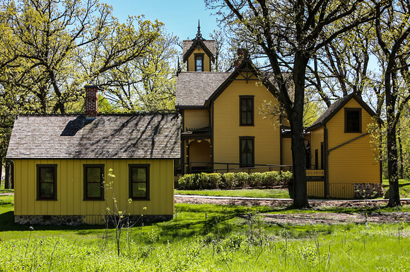Burwell House in Minnetonka Mills Minnesota for Town Planner Calendars