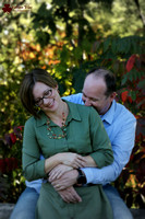 Chris and Kelly at their daughter's senior photo session at Mounds Park in St Paul Minnesota
